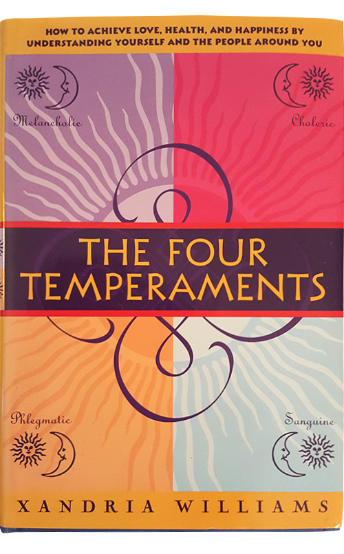 The Four Temperaments by Dr Xandria Williams